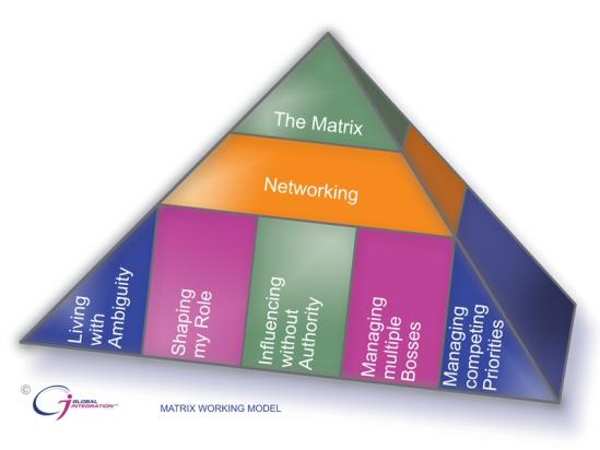 image: matrix working model diagram