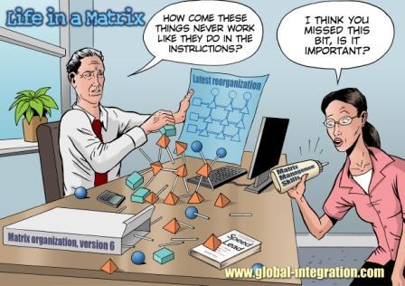 Matrix Management: All structure, no skills?