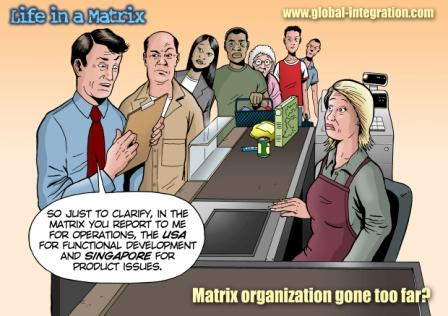 matrix organization gone too far