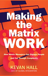 Making the matrix work book cover