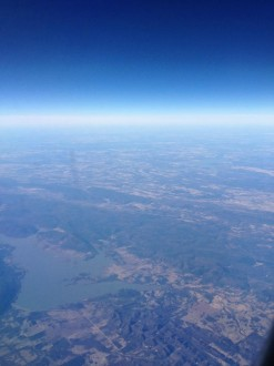 Shot from in-flight over Texas, by Kevan Hall