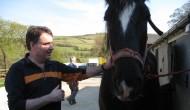 Tony Poots plus horse (photo)