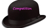 "Image ""competition"" written on hat"
