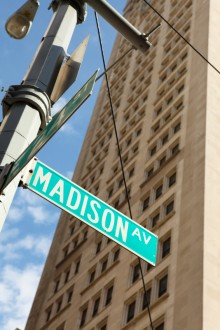 Madison Avenue Street Sign